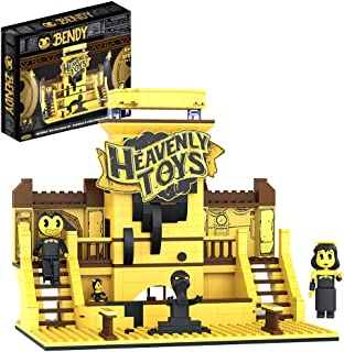"""Bendy - Heavenly Toys Buildable Set (Three 2.25"""" Minifigs, 383 Pieces)"""