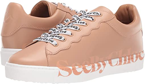 Sneaker Calf Rosellina/Logo Pink