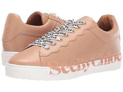See by Chloe Essie SB33125A (Sneaker Calf Rosellina/Logo Pink) Women