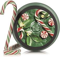 The Body Shop Peppermint Candy Cane Body Scrub, 8.4 Oz (Vegan)