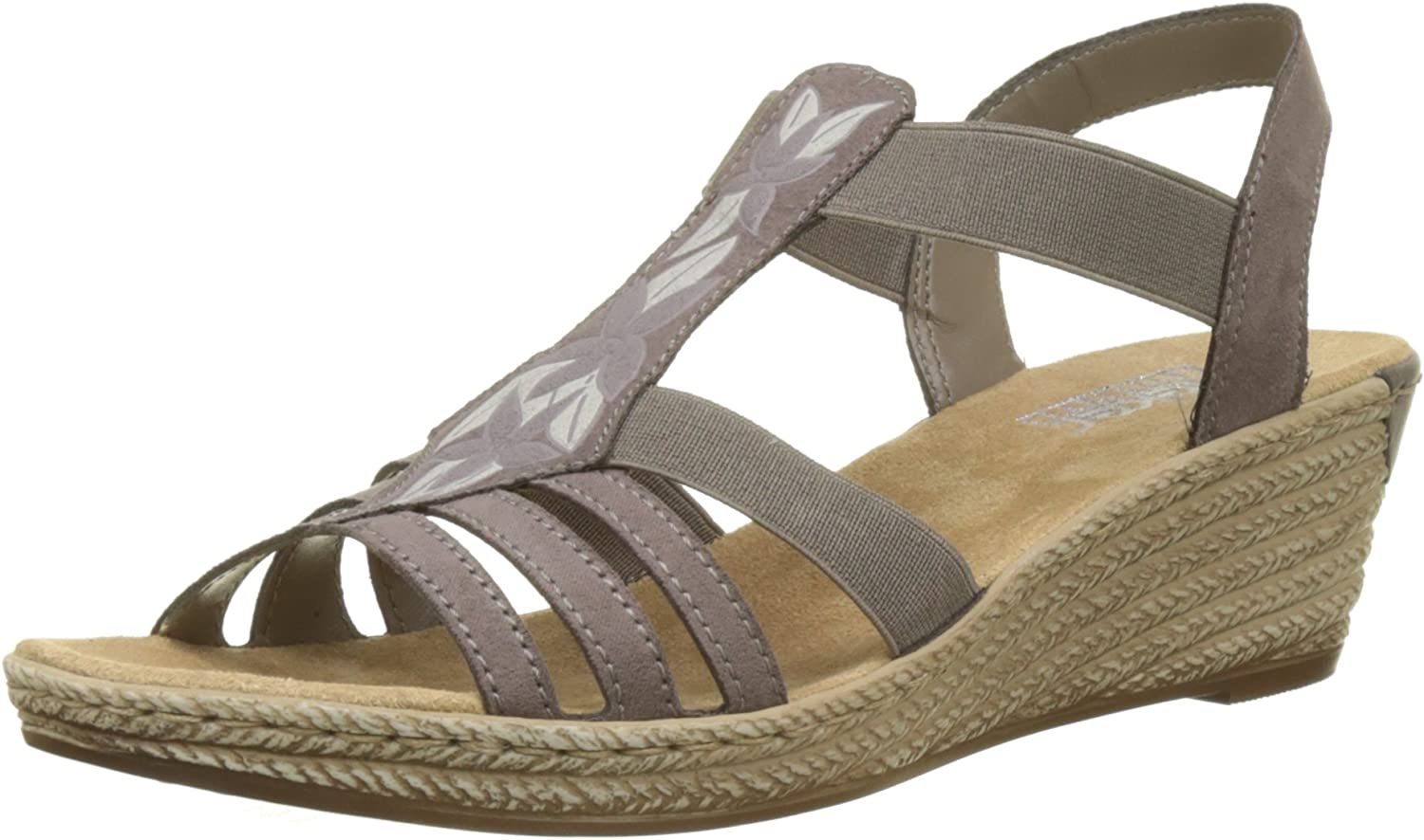 Rieker 62411-45 Nubia (Beige) Womens Sandals