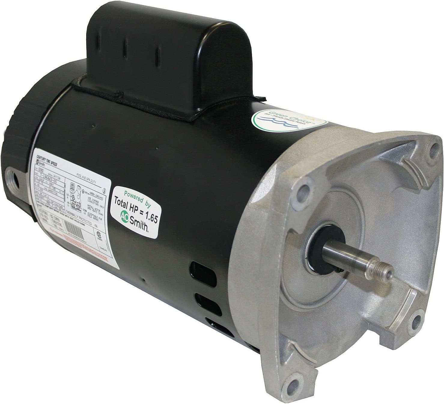 A.O.Smith B2982 1HP 230V 56Y 100% wholesale quality warranty Frame 2-Speed Square Pool or Flange