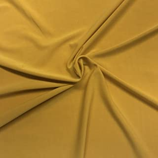 Best gold polyester fabric Reviews