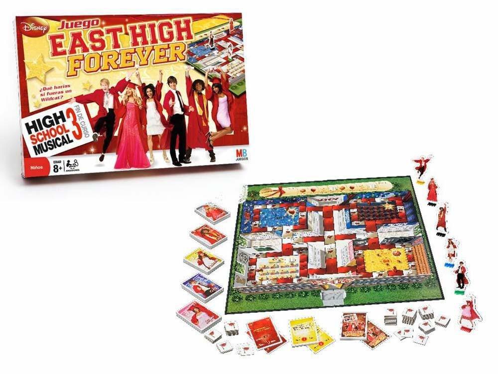 Hasbro 640503 - M.B. Juegos High School Musical 3: Amazon.es: Juguetes y juegos