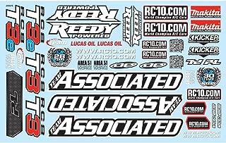 Associated 81325 Decal Sheet RC8T3/T3e