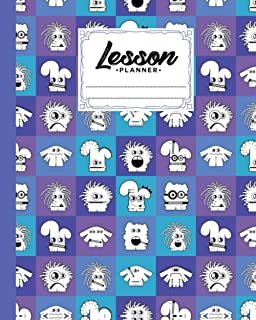 """Lesson Planner: 121 Pages, Size 8"""" x 10"""" 