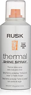 Rusk Thermal Shine Spray, Pure Argan Oil, 4.4 oz