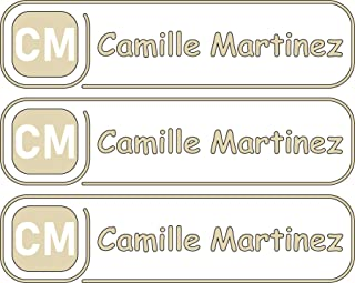All-purpose, Custom Name Labels, Name And Initials, Multiple Colors And Sizes, Waterproof, Microwave And Dishwasher Safe, Washer And Dryer Safe, Custom Name Label For Bottles, Custom Name Labels