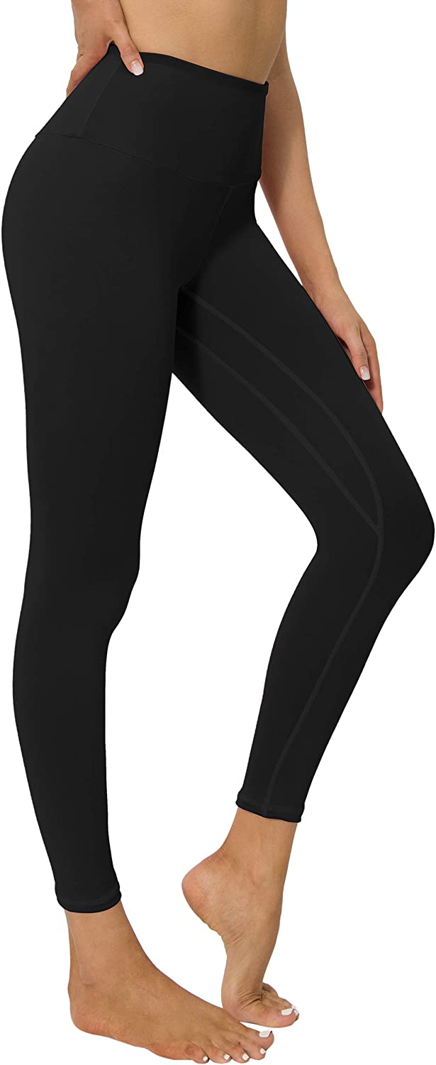 YUANRANER Leggings for Women High Waisted Workout Athletic Tummy Control Yoga Pants Compression Running Leggings with Pockets
