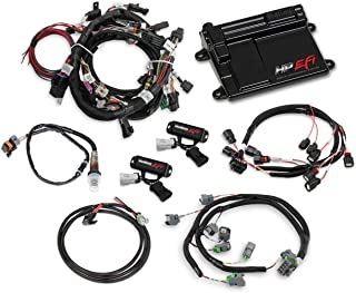 NEW HOLLEY TI-VCT HP EFI ECU KIT WITH POWER HARNESS,MAIN HARNESS,COIL HARNESS,INJECTOR HARNESS & SENSORS,COMPATIBLE WITH 2011-2017 FORD COYOTE ENGINES
