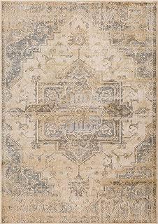 Luxe Weavers Silver 5x7 Oriental Area Rug