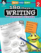 180 Days of Writing for Second Grade - An Easy-to-Use Second Grade Writing Workbook to Practice and Improve Writing Skills...