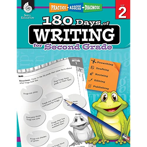 180 Days of Writing for Second Grade - An Easy-to-Use Second Grade Writing Workbook to Practice and Improve Writing Skills (180 Days of Practice)