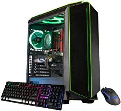 CUK Mantis Custom Gaming PC (AMD Ryzen 5 3600, 16GB DDR4 2666 RAM, 512GB NVMe SSD, NVIDIA GeForce GTX 1650 Super 4GB, 500W...