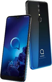 Alcatel 3 - Smartphone (RAM de 3 GB, Camara 13 MP, bateria 3500 mAh, Android), Color Azul