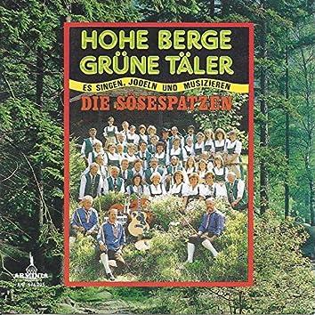 Hohe Berge, grüne Täler - Es singen, jodeln und musizieren Die Sösespatzen
