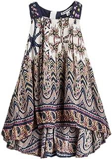 childdkivy Baby Girls Summer Dress Bohemian Fashion Clothes
