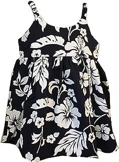 Áo quần dành cho bé gái – Made in Hawaii Girl's Hibiscus Classic Cruise Luau Hawaiian Aloha Bungee Dress