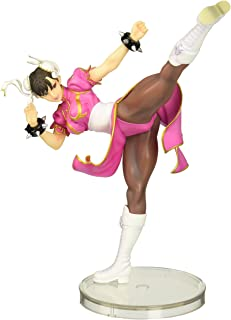 Kotobukiya Street Fighter Chun-Li Bishoujo Statue (Pink Costume) Limited Edition (1/7 Scale)