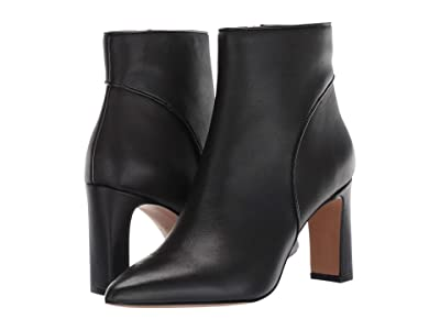 STEVEN NEW YORK Jenn (Black Leather) Women