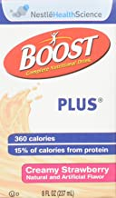 Nestle Boost Plus Strawberry 8Oz Brikpaks 27 Case