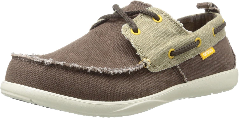 Crocs Men's Walu Canvas Deck Shoe