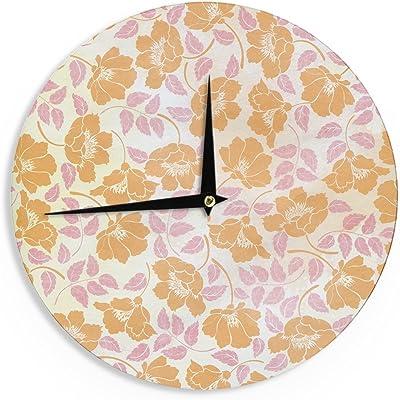 Kess InHouse Heidi Jennings Moroccan Multicolor Wall Clock 12