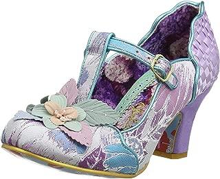 Windermere Purple Multi Womens Mary Jane Court Shoes Heels