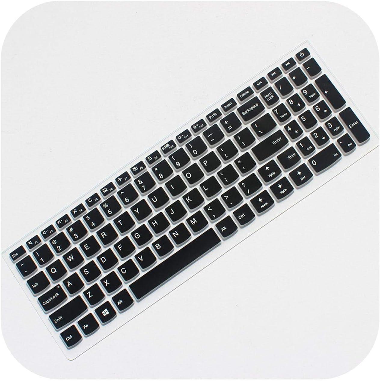 Notebook-Tastaturschutz f/ür Lenovo Ideapad 310 15//510 15//110 15 17 Laptop-Tastaturschutz Schwarz schwarz one Size