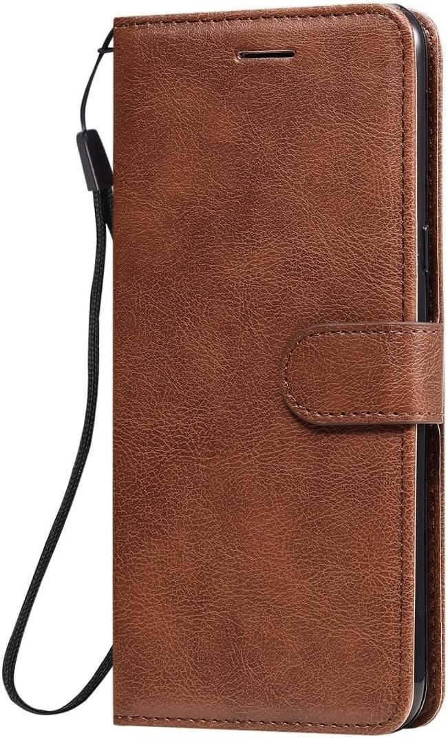 Silvia F/ür LG K41S K51S Massivf/ärbung Horizontal Daumenschutz Ledertasche mit Halter /& Kartensteckpl/ätze /& Brieftasche /& Bilderrahmen /& Schl/üsselband custodia protettiva Color : Blue