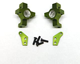 ST Racing Concepts STA31316G CNC Machined Aluminum Steering Knuckle for Wraith/RR10/Deadbolt (Pair) Green