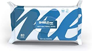 SHIELDme Disinfecting Wipes, 100% Natural - 80 Wipes Pack