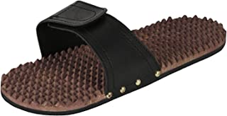 Rusticity Wood Acupressure Massager - Foot Slippers | Handmade | (10.5x4in)