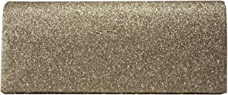 Wiwsi Stylish Women Clutch Box Evening Party Glitter Chain Hand Held Wallet Bags