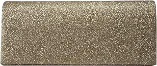 Wiwsi Stylish Women Clutch Box Evening Party Glitter Chain Hand Held Wallet Bags