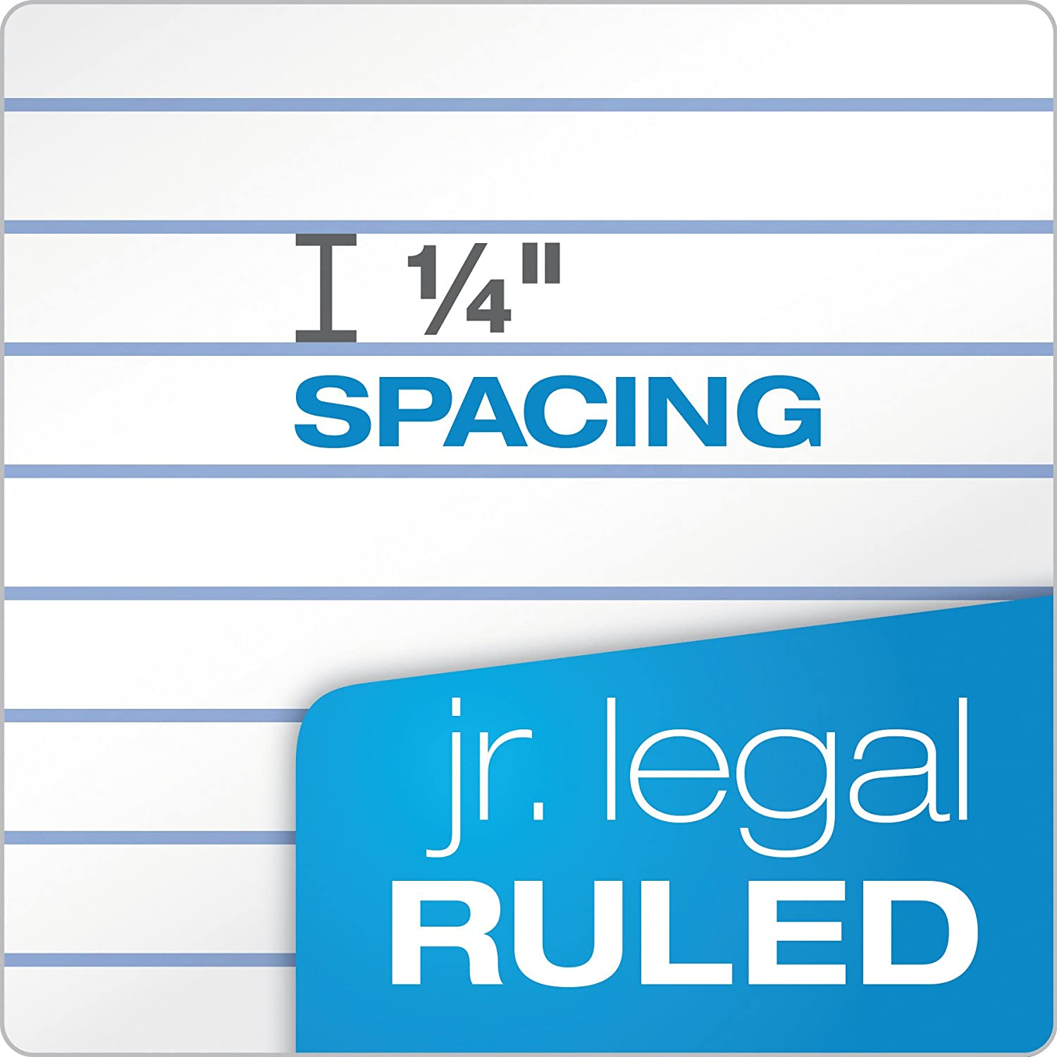 7500 Legal Rule Jr 12 Pack 5 x 8 50 Sheets - 1 The Legal Pad Writing Pads
