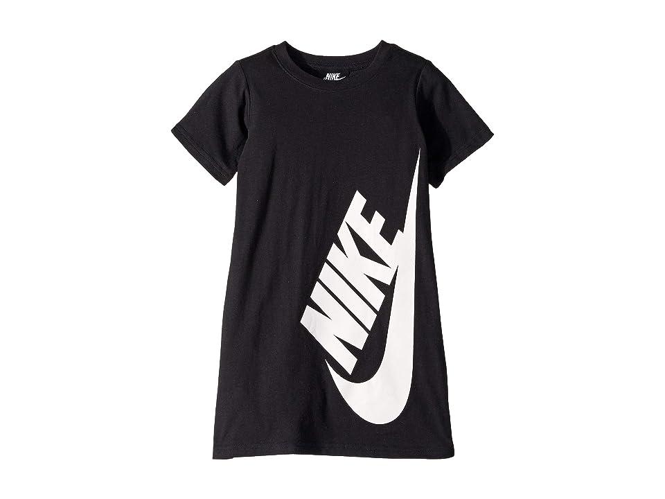 Nike Kids Sportswear T-Shirt Dress (Little Kids) (Black) Girl