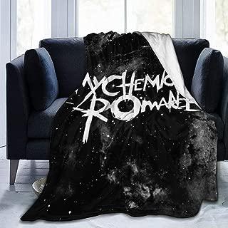 LNGDSIA My Chemical Romance Polar Fleece Super Soft Cozy Warm Lightweight Throw Blankets Plush Sheet for Travel