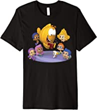 Bubble Guppies Mr. Grouper Reading To The Guppies Portrait Premium T-Shirt