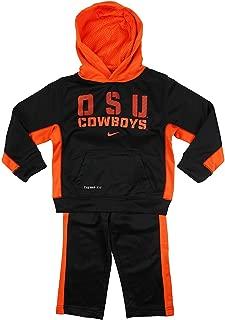 Nike NCAA Little Boys Toddler OSU Oklahoma State Cowboys 2-Piece Hoody and Pants Set