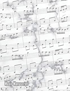 Music Manuscript: Blank Sheet Music Composition and Notation