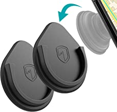 Car Grips Mount for Phone Stand - FITFORT 2019 Upgraded Silicone Phone Holder for Soket User with 3M Sticky Adhesive Used on Car Dashboard, Home, Office, Wall (Black) 2 Pack