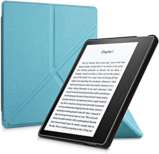 Smart Cover Case Fit New for Kindle Oasis 2/3 (9Th 10Th Generation 2017/2019 Release) 7 Inch E Reader Folding Stand Case-in Tablets & E,Elegant Blue