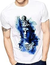 Ghantababajika Men's Polyester Printed Neele Shiv Ji T-Shirts