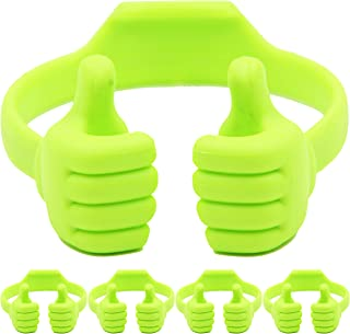 Cell Phone Tablet Stands (Pack of 5): Honsky Thumbs-up Cellphone Holder, Tablet Display Stand, Mobile Smartphone Mount Cra...