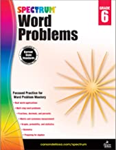 Word Problems, Grade 6 (Spectrum)