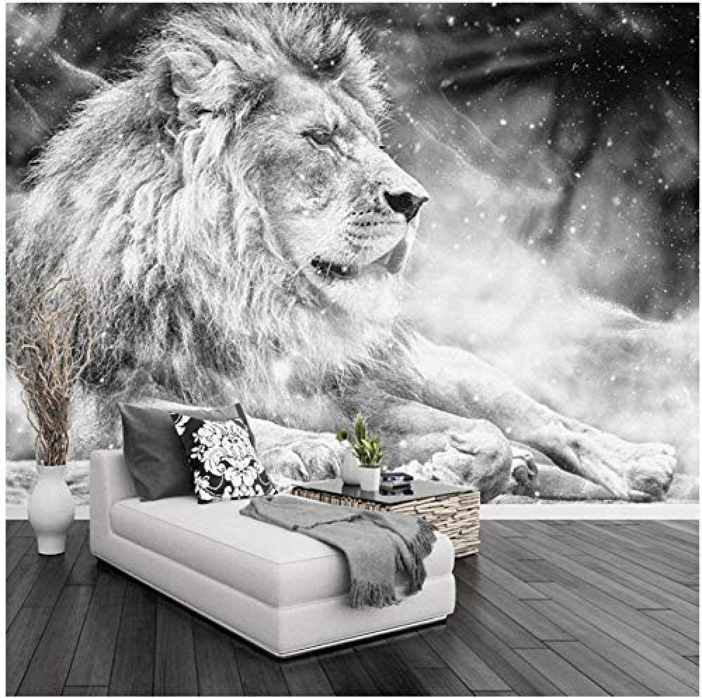 Clhhsy Dealing full price reduction Waterproof and Removable Custom famous Black Wallpaper Mural 3D