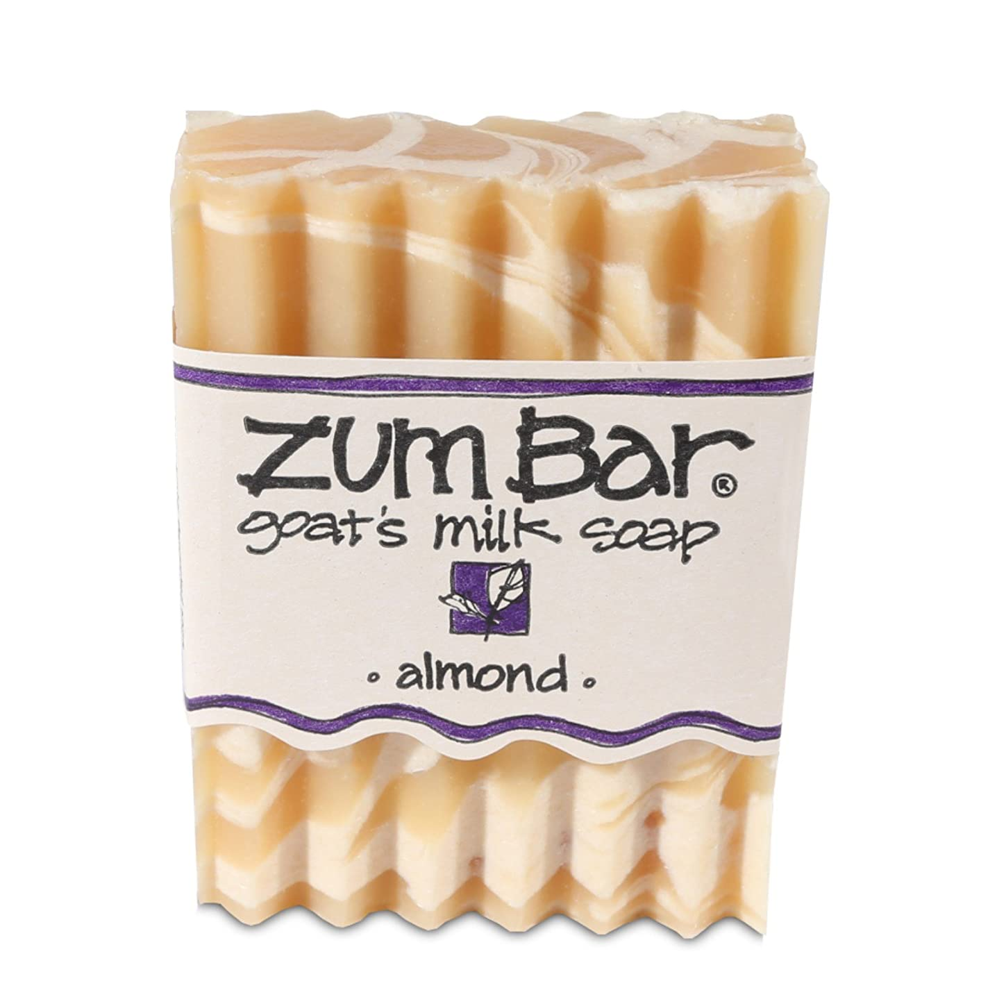 トーク拡散する悲観主義者海外直送品 Indigo Wild, Zum Bar, Goat's ミルク ソープ アーモンド , 3 Ounces (2個セット) (Almond) [並行輸入品]