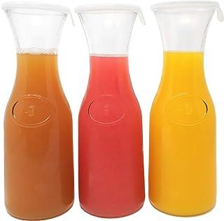 Tinker, Spoon & Ash 1L Glass Carafe Set; Wine, Water, Mimosa Pitchers (3)
