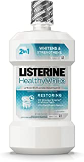Best listerine healthy white 16 oz Reviews